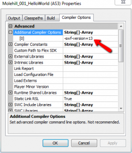 Additional Compiler Options